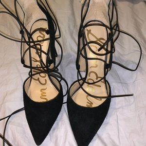 Sam Edelman Black Heels size 6